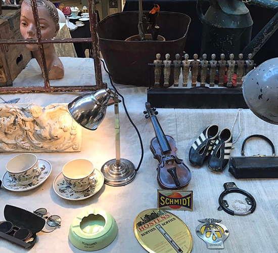 lampe tassen geige und mehr auf dem antikmarkt